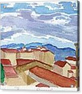 Panorama Florence Acrylic Print