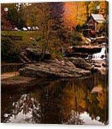 Panorama  Glade Creek Mill Acrylic Print