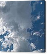 Panoramic Clouds Number 1o Acrylic Print