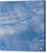 Panoramic Clouds Number 4 Acrylic Print