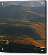 Panoramic Over Sapper Hill Acrylic Print