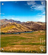 Panoramic Range Land Acrylic Print