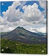 Panoramic View Of A Volcano Mountain  Acrylic Print