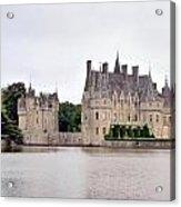 Panoramic View Of Chateau De La Bretesche Acrylic Print