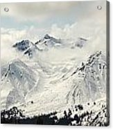 Panoramic View Of Snow-covered St Acrylic Print