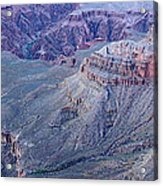 Panoramic View Of The Grand Canyon Acrylic Print