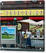 Papaya King Acrylic Print