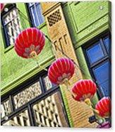 Paper Lanterns Acrylic Print