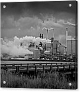 Paper Mill Acrylic Print by Williams-Cairns Photography LLC