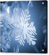 Paper Snowflake Acrylic Print
