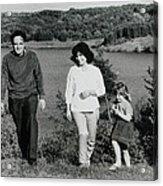 Pappa Hans Mama Chris Colette 1960 Dollerup Hills Denmark Acrylic Print