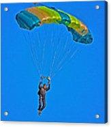 Parachuting Acrylic Print