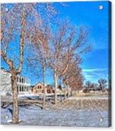 Parade Grounds - Fort Laramie  Acrylic Print