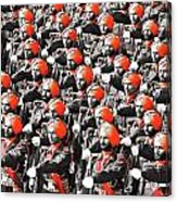 Parade March Indian Army Acrylic Print