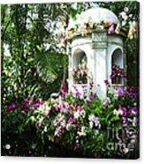 Paradise Gazebo Acrylic Print