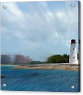 Paradise Island Lighthouse Acrylic Print