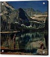 Paradise Lake Revisited Acrylic Print