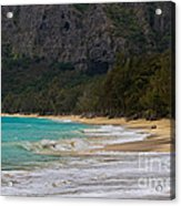 Paradise With A Ocean View Acrylic Print