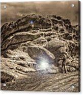 Paranormal Rockies Acrylic Print