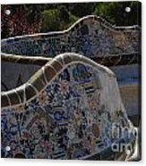 Parc Guell Barcelona Acrylic Print