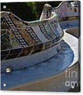 Parc Guell Spain Acrylic Print