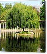 Parc Monceau Paris Acrylic Print