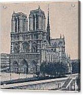 Paris - Notre Dame Acrylic Print
