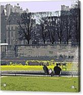Paris 02 Acrylic Print by Yuriy  Shevchuk