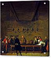 Paris: Billiards, 1725 Acrylic Print