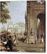 Paris: Book Stalls, 1843 Acrylic Print
