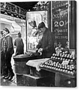 Paris: Chestnut Vendor Acrylic Print