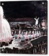 Paris: Fountains, 1889 Acrylic Print
