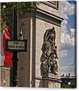 Paris Frame Of Mind Acrylic Print