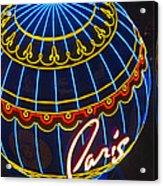 Paris Hotel Las Vegas Acrylic Print