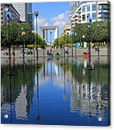 Paris La Defense 3 Acrylic Print