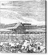 Paris: Les Halles, 1858 Acrylic Print