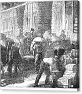 Paris: Les Halles, 1870 Acrylic Print