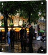 Paris Musicians Acrylic Print