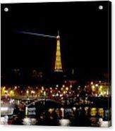 Paris Night Acrylic Print