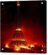 Paris Nights Acrylic Print