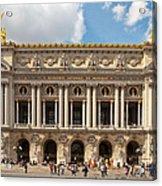 Paris Opera House Acrylic Print
