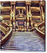 Paris Opera House Vii  Grand Stairway Acrylic Print