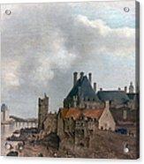 Paris: Pont Neuf, 1637 Acrylic Print