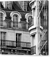 Paris Reflections 1 Acrylic Print