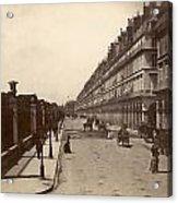 Paris: Rue De Rivoli, C1900 Acrylic Print