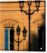 Paris Shadows Acrylic Print