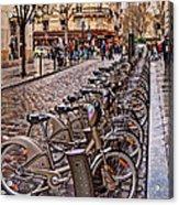Paris Wheels For Rent Acrylic Print