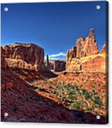 Park Avenue 1 Arches National Park Acrylic Print