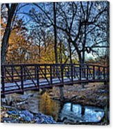 Park Bridge Acrylic Print