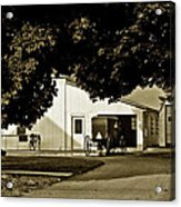 Parked Buggy - Lancaster Pennsylvania Acrylic Print